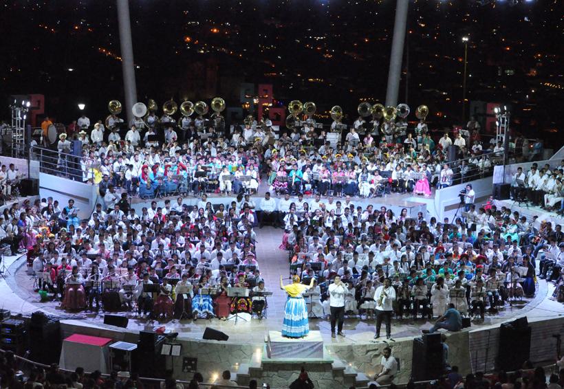 Video: Vibran 11 mil almas en Oaxaca con concierto monumental | El Imparcial de Oaxaca