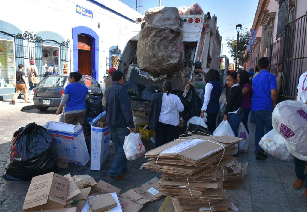 Garantizan recolección  de basura en la capital de Oaxaca | El Imparcial de Oaxaca