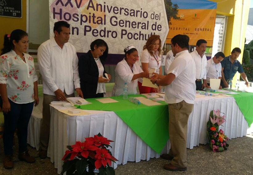 Celebran 25 años del  Hospital de San Pedro Pochutla, Oaxaca