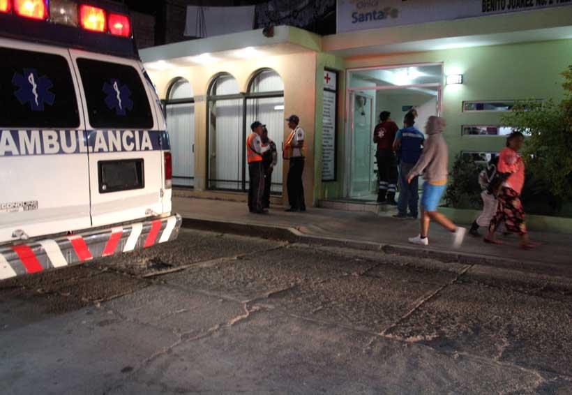 Choque frontal; un muerto y cinco heridos