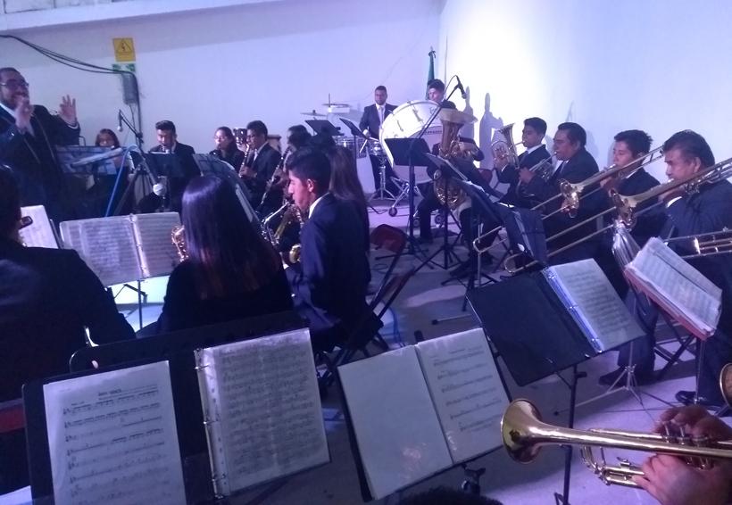Cierra conciertos  Sandavi Ensamble en Huajuapan de León, Oaxaca
