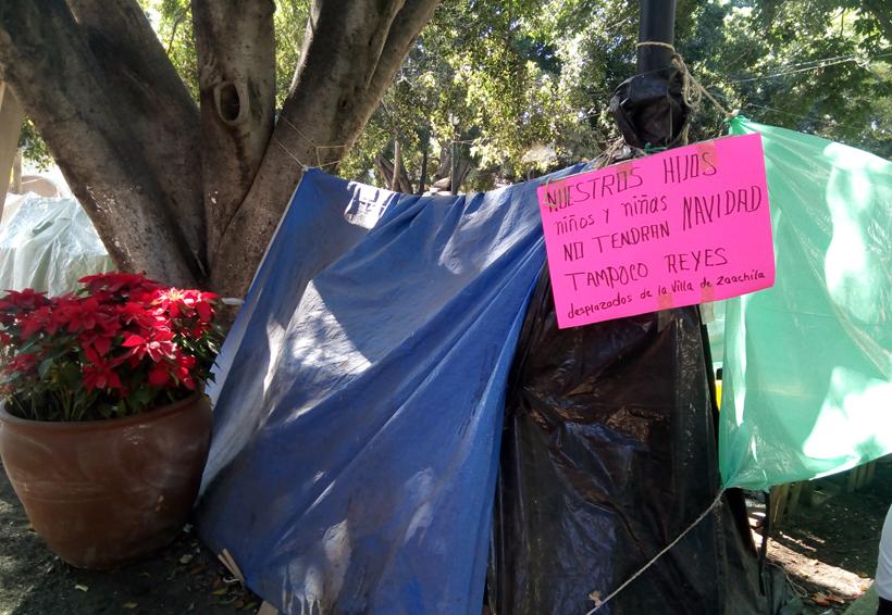 Colocan stands en Oaxaca para la Noche de Rábanos