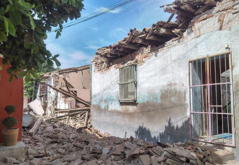 Construyen refugios temporales en Ciudad Ixtepec, Oaxaca | El Imparcial de Oaxaca