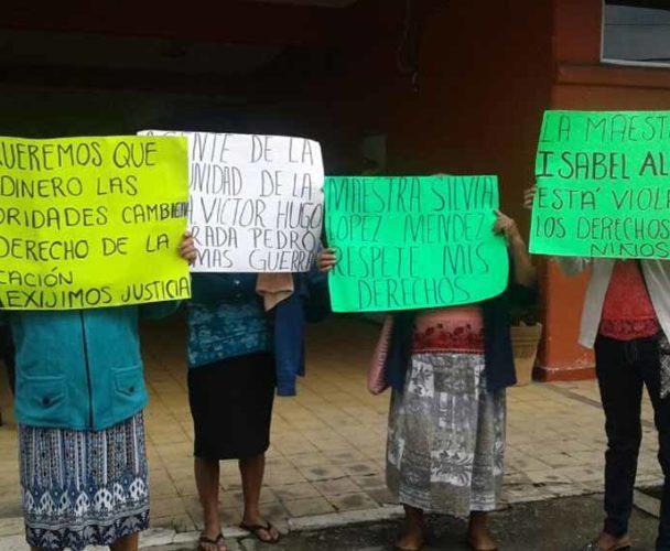 Continúa en Tuxtepec la negociación por conflicto entre magisterios