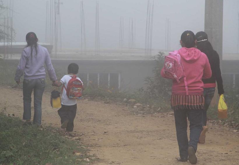 Continuarán los fríos en la Mixteca de Oaxaca