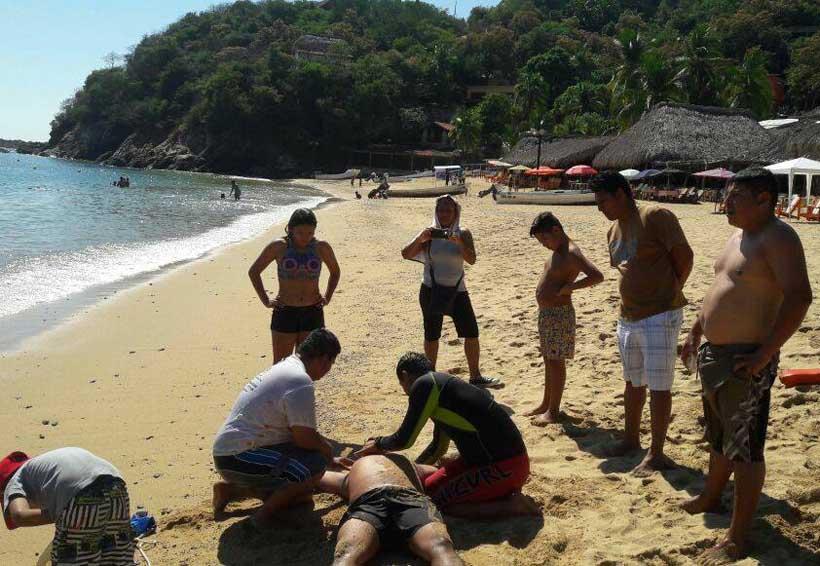 Cuidarán a paseantes en playas de Pochutla, Oaxaca
