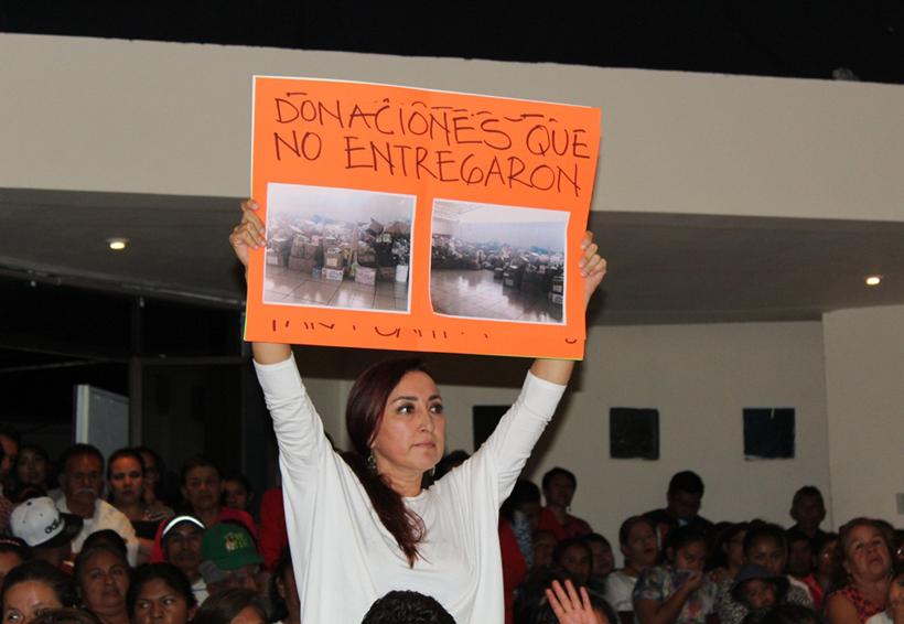 DIF no entregó apoyos  destinados a Huajuapan de León, Oaxaca