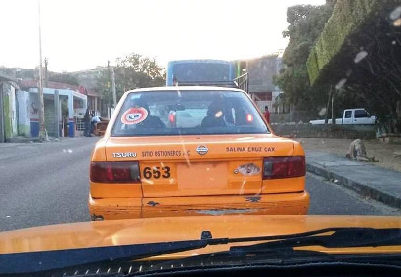 Denuncian en Salina Cruz circulación de taxis irregulares | El Imparcial de Oaxaca