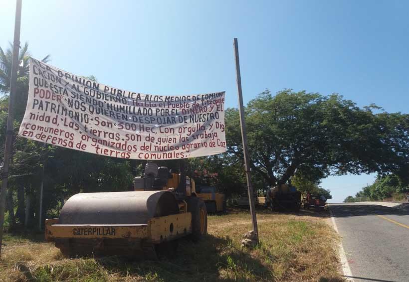 """En Tilzapote es un """"delito"""" tener tierras privilegiadas"""
