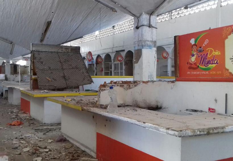 En tres meses  podrían terminar  el mercado de Salina Cruz, Oaxaca | El Imparcial de Oaxaca