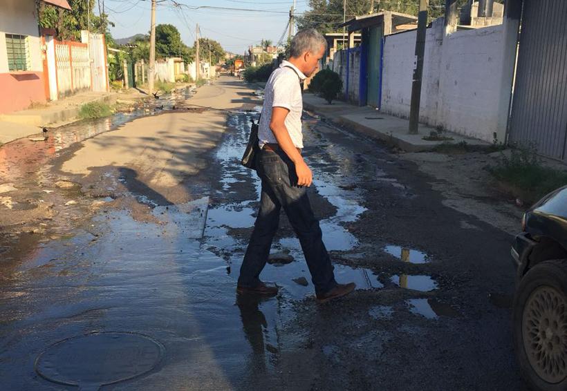 Fuga de aguas negras afecta a vecinos de Salina Cruz, Oaxaca | El Imparcial de Oaxaca