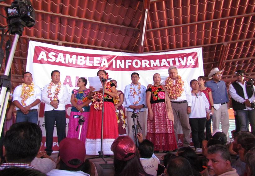 Gloria Sánchez traiciona  al PRD y se va con AMLO | El Imparcial de Oaxaca