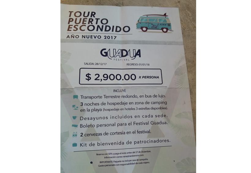 Incertidumbre en Zicatela por temporada vacacional