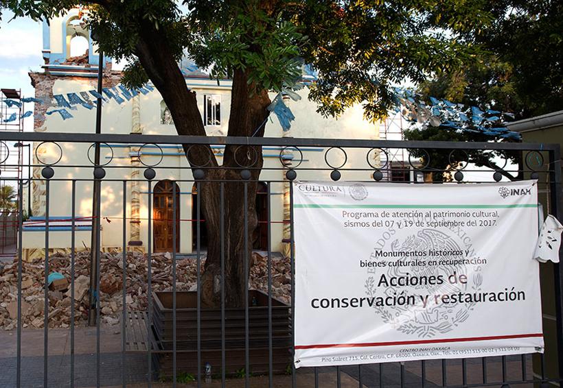 Inicia en 2018 reconstrucción de  inmuebles con valor patrimonial
