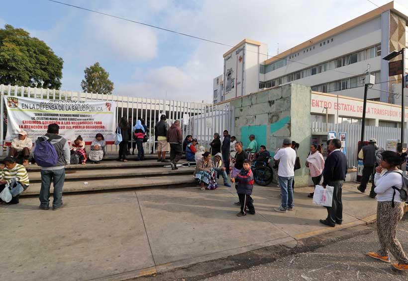 Levantan paro en el Hospital Civil de Oaxaca | El Imparcial de Oaxaca