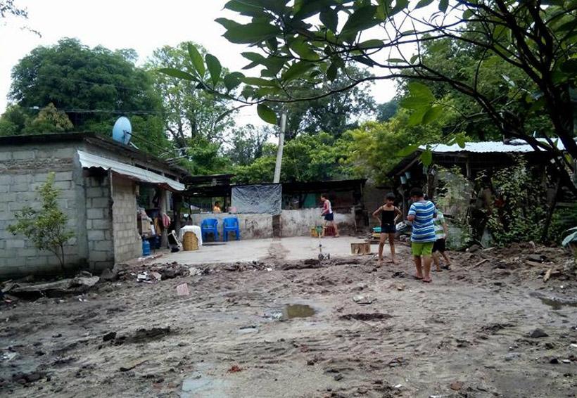 Lenta la reconstrucción  en Santiago Laollaga tras sismo