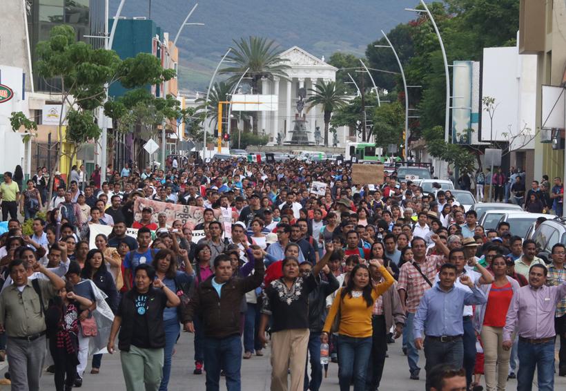 Recesa Sección 22 sus movilizaciones; regresa en enero | El Imparcial de Oaxaca