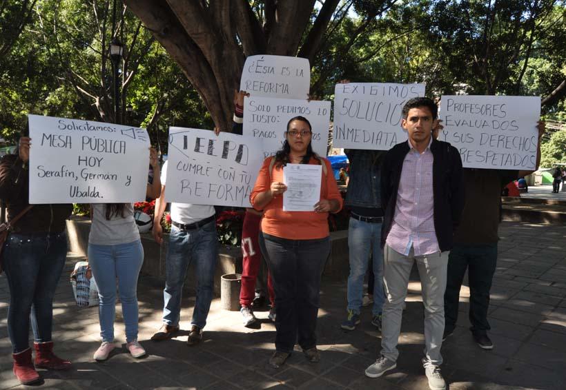 Idóneos reclaman pagos al IEEPO | El Imparcial de Oaxaca