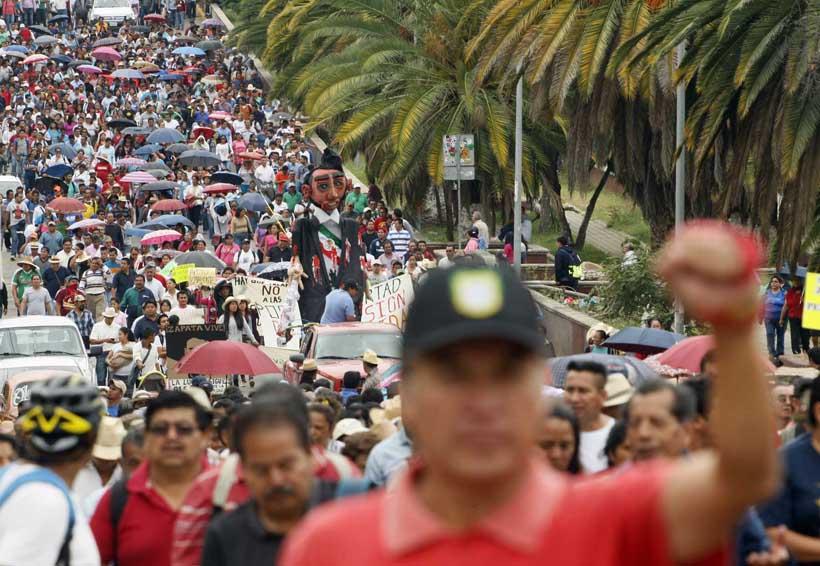 El conflicto magisterial se abrió a todo el país | El Imparcial de Oaxaca