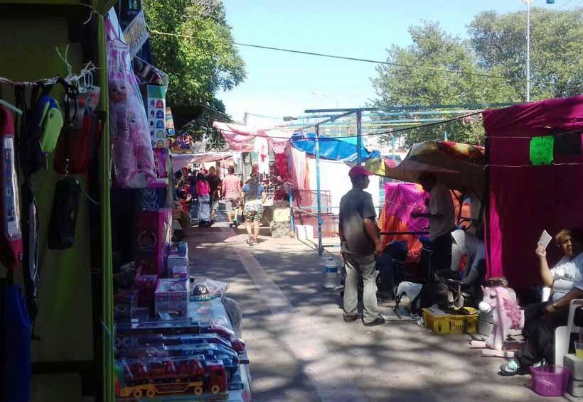 Mercaderes guadalupanos en Salina Cruz registran escazas ventas