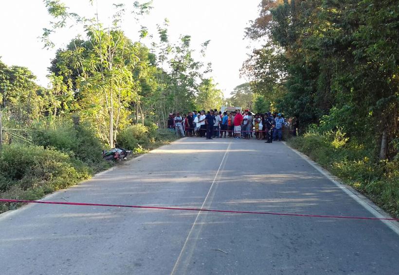 Muere motociclista en Pinotepa Nacional, Oaxaca