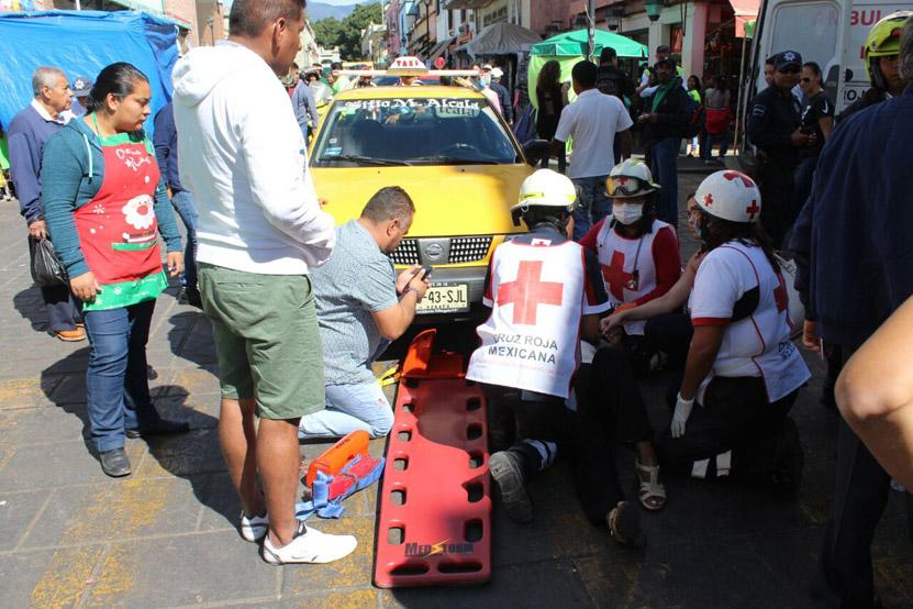 Arrollan a turista en la ciudad de Oaxaca | El Imparcial de Oaxaca