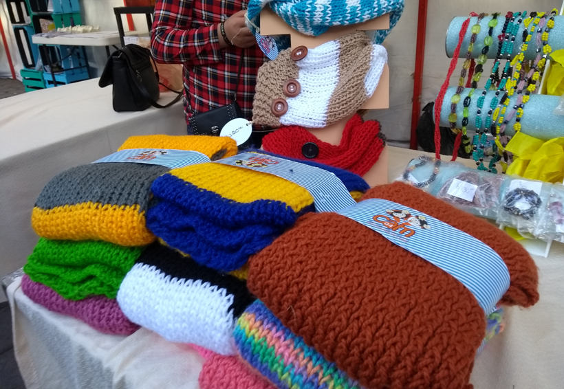 Personas con discapacidad en Oaxaca elaboran artesanías