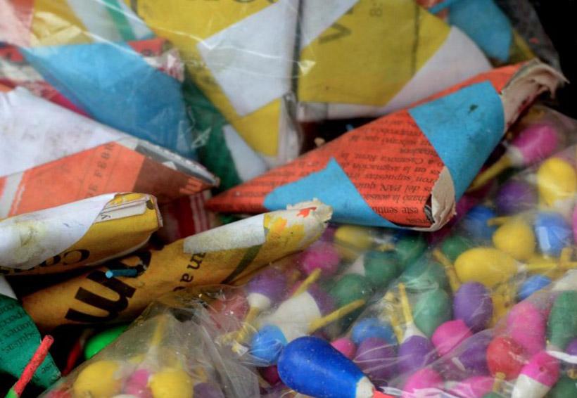 Piden regular venta de  pirotecnia en Huajuapan de León, Oaxaca