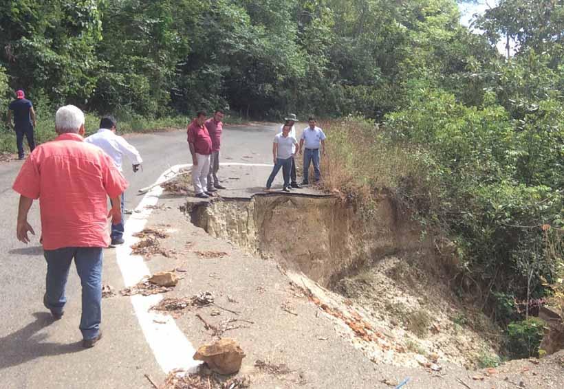 Rehabilitarán  tramo carretero de Pluma Hidalgo, Oaxaca | El Imparcial de Oaxaca