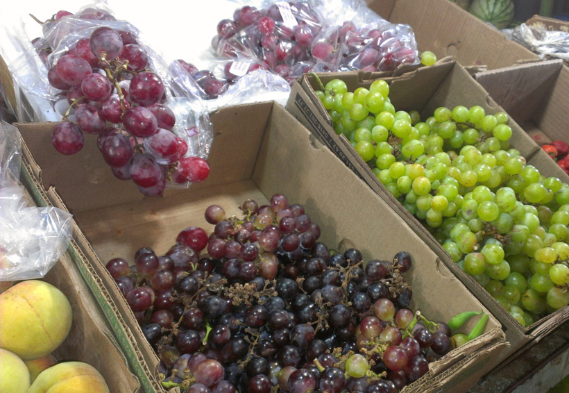 Por las nubes el precio de la uva en Oaxaca