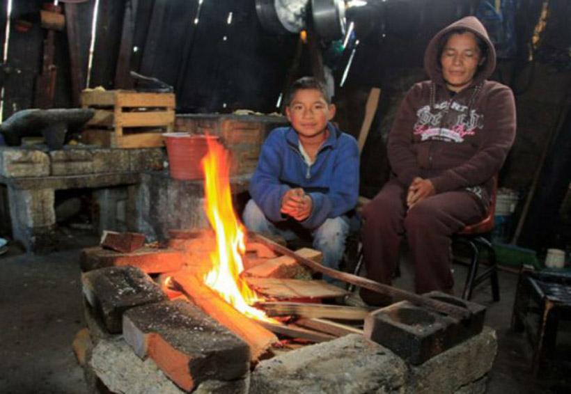 Previene Protección Civil  por las bajas temperatura en la Mixteca de Oaxaca