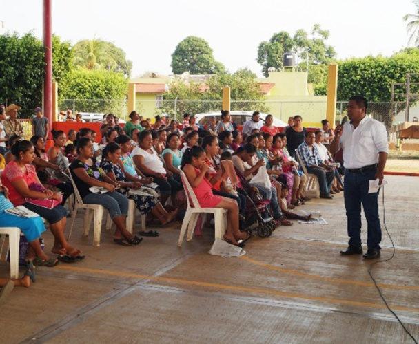 Problema en colonias de Tuxtepec, resuelto  con pago del predio