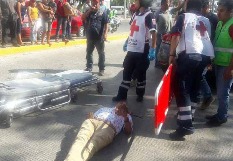 Riña entre taxistas deja un herido | El Imparcial de Oaxaca