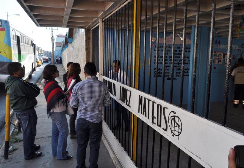 Surge inconformidad en preescolar de Oaxaca