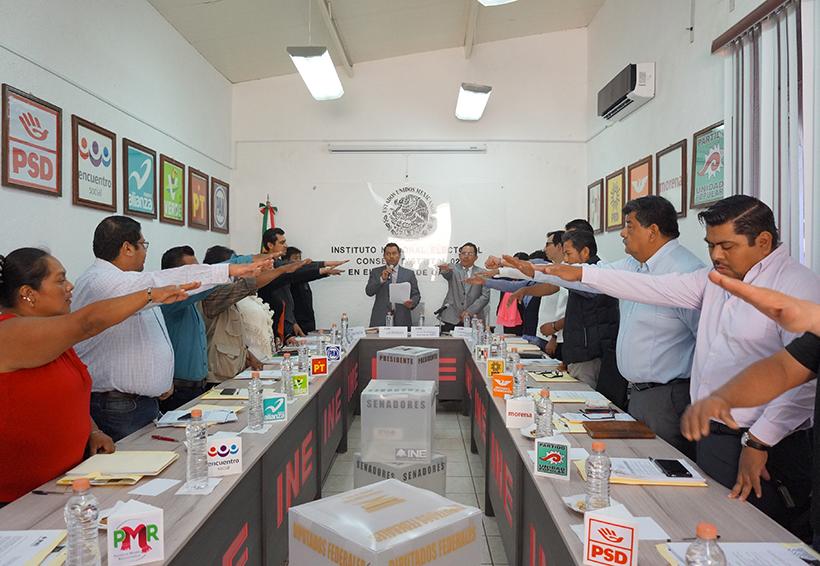 Instalan Consejo  Distrital 02 del INE  en Teotitlán de FM | El Imparcial de Oaxaca
