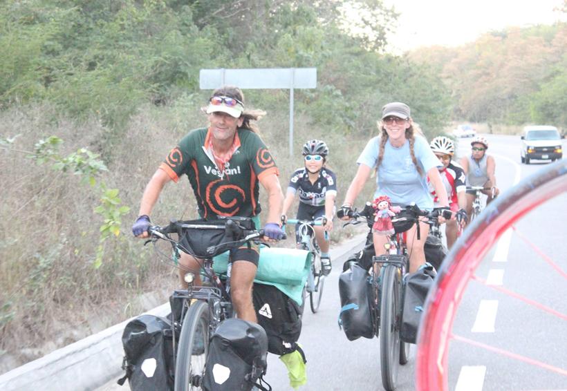 Travesía ciclista desde Santa María Huatulco hacia Argentina