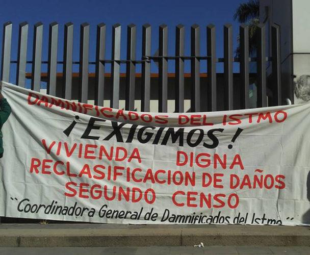 Van 200 mdp para reconstrucción el Istmo de Oaxaca