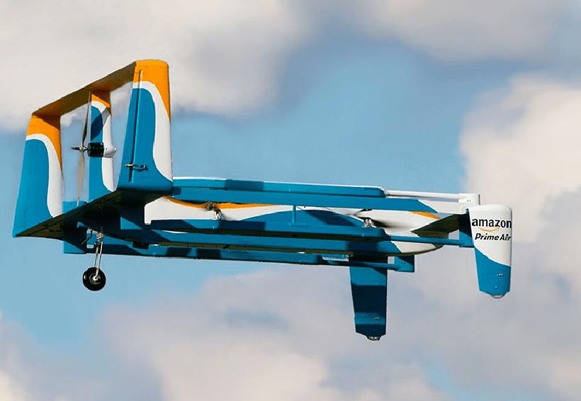 Amazon patenta un drone autodestructivo en caso de emergencias | El Imparcial de Oaxaca
