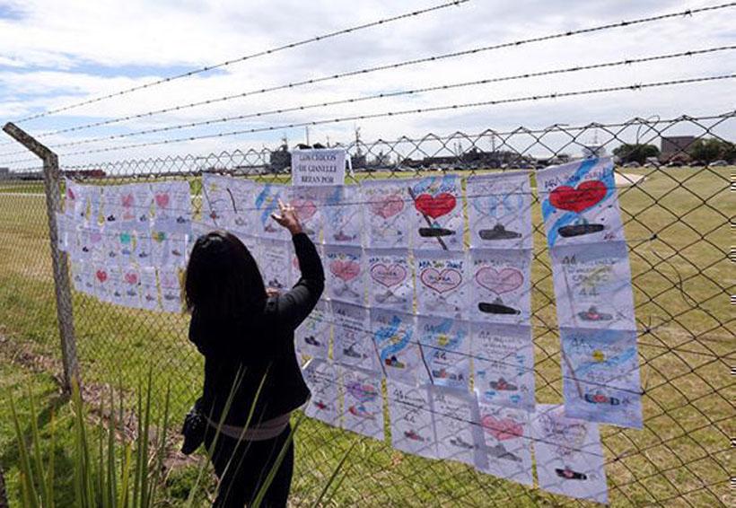 Familiares exigen búsqueda de submarino argentino desaparecido hace un mes | El Imparcial de Oaxaca