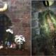 Veneran la 'aparición' de la Virgen de Guadalupe en un caño