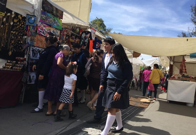 """Comerciantes de """"El Llano"""" inconformes por reubicación de tianguis"""