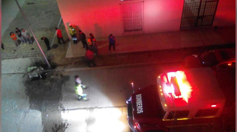 Explota puesto callejero de pirotecnia en Xoxo | El Imparcial de Oaxaca