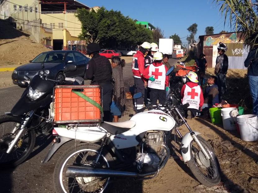 Derrapa rumbo a Monte Albán, Oaxaca | El Imparcial de Oaxaca