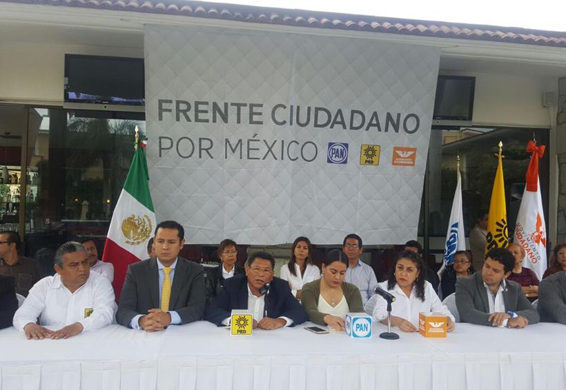 Podría fracturarse el Frente Ciudadano | El Imparcial de Oaxaca