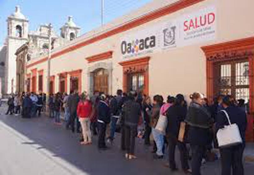 Se quedan sin pago en sector Salud de Oaxaca | El Imparcial de Oaxaca