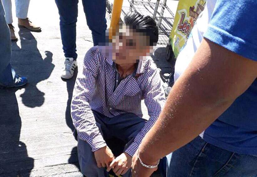 Lo capturan y amarran tras acusarlo de robo en la colonia Reforma, Oaxaca | El Imparcial de Oaxaca