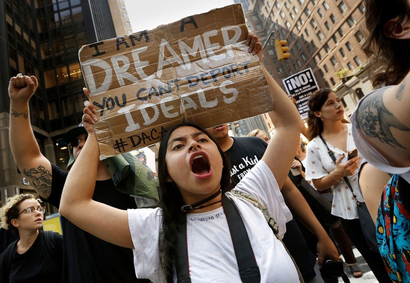 Confían 'dreamers' en obtener alivio migratorio en enero | El Imparcial de Oaxaca
