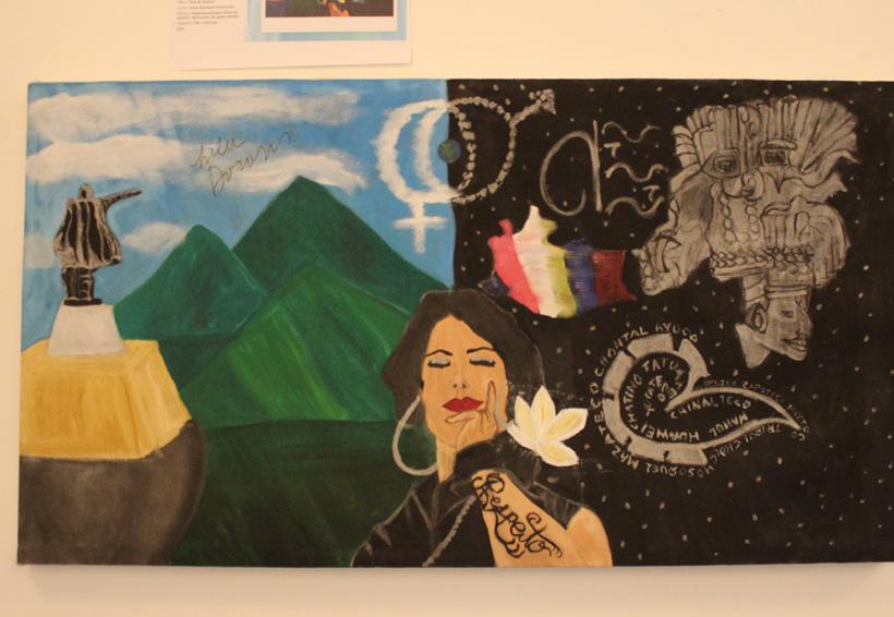 Expone El Quetzal obra inspirada en Lila Downs