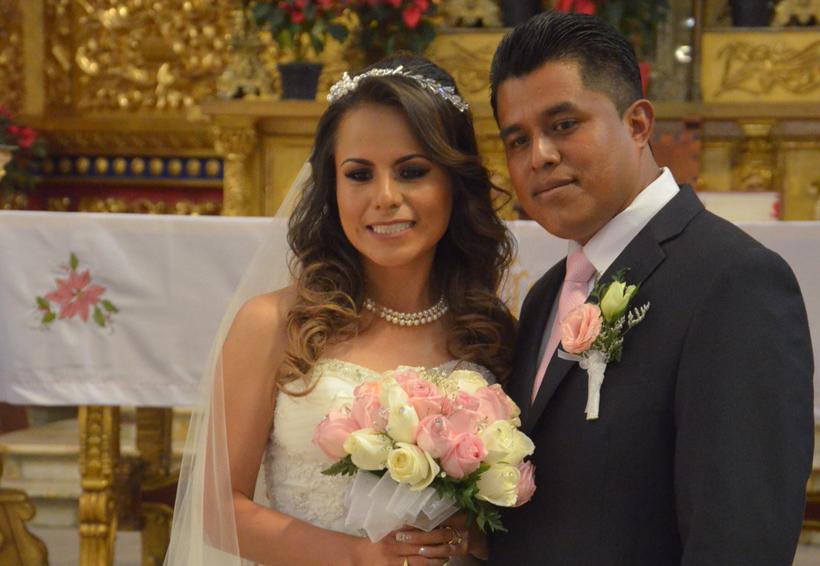 Martha y Leonel se dan el sí