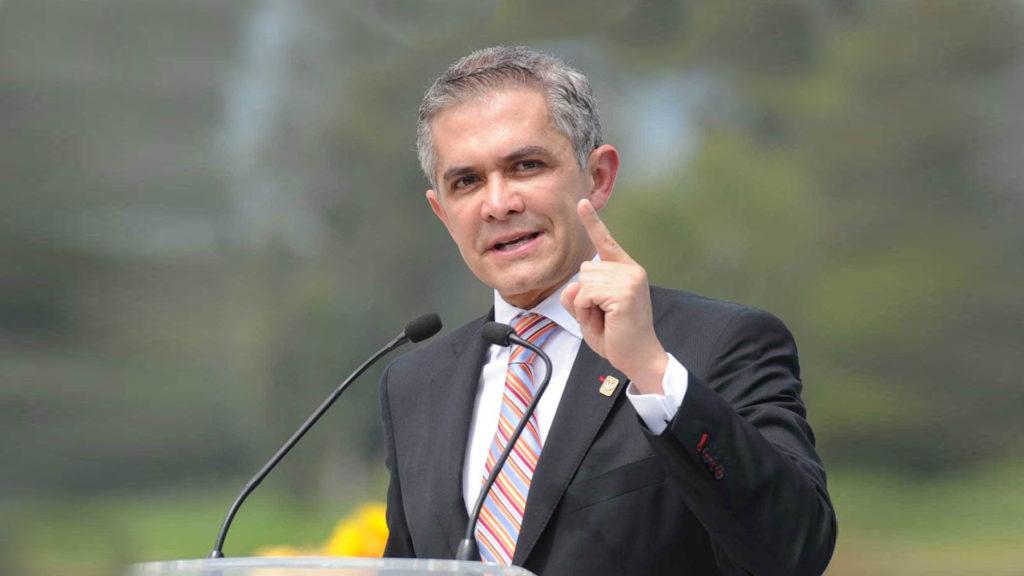 El 5 de diciembre Mancera dejará la Jefatura de Gobierno para buscar la Presidencia | El Imparcial de Oaxaca